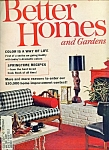 Better Homes and Gardens - April 1962