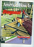 American How-to magazine - March / April 1999