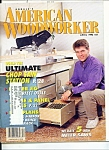 Click here to enlarge image and see more about item M3084: American Woodworker - April 1993