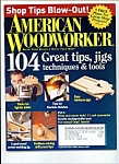 Click here to enlarge image and see more about item M3158: American Woodworker -  Dec. Jan. 2006-07
