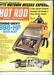 Hot Rod Magazine - January 1972