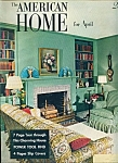 Click here to enlarge image and see more about item M3350: American Home for April 1954