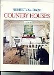 Architectural digest country houses  1987