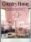 Click here to enlarge image and see more about item M3409: Country Home magazine-  April 1990