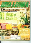 Click here to enlarge image and see more about item M3462: House &  Garden - March 1981
