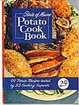 State of Maine Potato cook book - copyright 1950