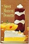Sweet Moment desserts -General Foiods =copyright 1963