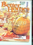 Better Homes and Gardens - October 2001