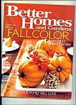 Better Homes and Gardens -  October 2003