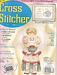 Click here to enlarge image and see more about item M3651G: The Cross Stitcher magazine -  April 1996