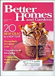 Better Homes and Gardens -  January 2005