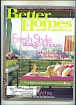 Better Homes and Gardens -  April 2004