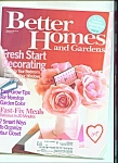 BetterHomes and Gardens -  February 2007