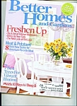 Better Homes and Gardens -  March 2007