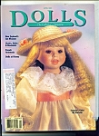 Click here to enlarge image and see more about item M3877: Dolls, the Collectors magazine- April 1992