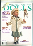 Click here to enlarge image and see more about item M3896: Dolls collectors magazine-  April 1997