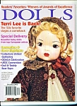 Click here to enlarge image and see more about item M3899: DOLLS  magazine -  December 2002