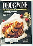 Food & Wine -  March 1988