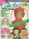 Click here to enlarge image and see more about item M4111DD: Doll Collector's Price guide -  Spring 1992