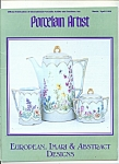 Porcelain Artist -  March/April 1994