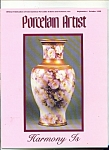 Click here to enlarge image and see more about item M4157: Porcelain Artist -  September/October 1990