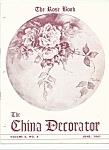 Click here to enlarge image and see more about item M4159: The China Decorator - June 1961
