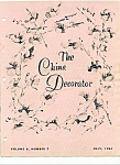 Click here to enlarge image and see more about item M4161: The China Decorator - July 1961