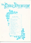 Click here to enlarge image and see more about item M4166: The China Decorator -  Febrduary 1969