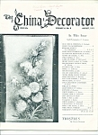 Click here to enlarge image and see more about item M4180: The China Decorator - June 1971