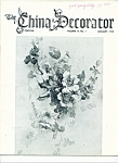 The China Decorator - January 1972