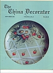 Click here to enlarge image and see more about item M4216: The China Decorator  - September 1988
