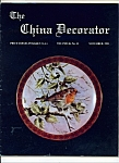 Click here to enlarge image and see more about item M4228: The China Decorator  -  November 1981