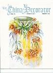 Click here to enlarge image and see more about item M4268: The China Decorator  - February 1976