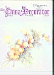 Click here to enlarge image and see more about item M4270: The China Decorator  - June 1976