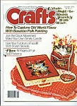 Click here to enlarge image and see more about item M4354: Crafts magazine- October 1978
