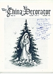 Click here to enlarge image and see more about item M4362: The China Decorator -  December 1962