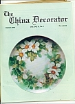 Click here to enlarge image and see more about item M4375: The China Decorator -  March 1990