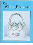 Click here to enlarge image and see more about item M4381: The China Decorator -  May 1992