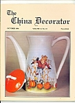 Click here to enlarge image and see more about item M4393: The China Decorator -  October 1996