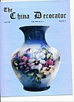 Click here to enlarge image and see more about item M4397: The China Decorator -  April 1999