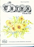 Click here to enlarge image and see more about item M4401: The China Painter - WOCP - March-April 1983