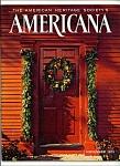 Americana-Americanheritage society - November 1973