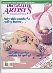 Decorative Artist's workbook - April 1989