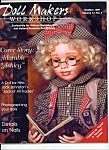 Click here to enlarge image and see more about item M4437: Doll Makers workshop magazine - Oct/Nov. 1997