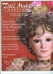 Click here to enlarge image and see more about item M4439: Doll Maker workshop  magazine- April/May 199