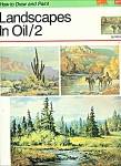 Click here to enlarge image and see more about item M4575: walter Foster Art book -  Landscapes in Oil/2    #167