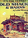 Walter Foster Art book-  OLD SHACKS AND BARNS  # 169