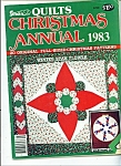 Click here to enlarge image and see more about item M4650: Stitch 'n sew Quilts Christmas annual - 1983