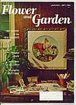 Click here to enlarge image and see more about item M4719: Flower and Garden magazine- January 1967