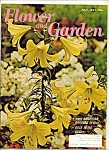 Click here to enlarge image and see more about item M4727: Flower and Garden -  July 1967